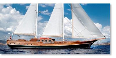 Luxus segelyacht holz  Gulet Türkei Charter Blaue Reisen Türkei Gulet Urlaub Motorsegler ...
